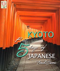 Spend 5 amazing days in Kyoto, by visiting temples, shrines, eating the best food available in the Kansai region and meditate in moss gardens. Partake in formal ceremonies and enjoy authentic Japanese traditions. Whatever you end up doing, Kyoto has it all!
