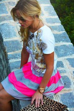 metallic embellished detailed fashions