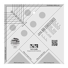 Creative Grids Cat's Cradle TooL Quilt Rulers Template Ac... https://www.amazon.com/dp/B00XIF23QI/ref=cm_sw_r_pi_dp_x_1NN6xbVCRKETB