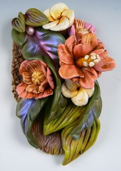 """""""Passion"""" by Christi Friesen, polymer clay."""