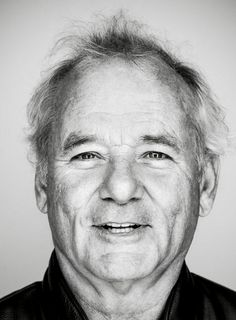 Bill Murray William James Bill Murray born September 21 1950 is an American actor and comedian He first gained national exposure on Saturday Night Live in which he earned. Bill Murray, Cinema Video, The Blues Brothers, Williams James, Celebrity Portraits, Black And White Portraits, Saturday Night Live, Famous Faces, American Actors