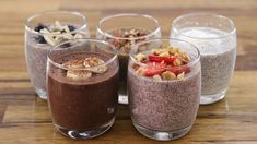 Chia pudding is the perfect healthy breakfast, but also can be enjoyed as a balanced snack or dessert. Healthy Lunches For Kids, Healthy Toddler Meals, Easy Healthy Recipes, Toddler Food, Healthy Food, Banana Chia Pudding, Coconut Chia Pudding, Milk Recipes, Snack Recipes