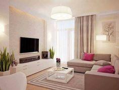 Wohnzimmer in Grau, Rosa und Pink einrichten. | Wohnen | Pinterest ...