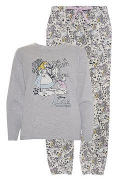 Primark - Alice In Wonderland Pyjama Set Clothing 42b923cba