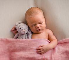 newborn baby girl sleeping under pink blanket with stuffed rabbit toy Pink Blanket, Girl Sleeping, Happy Photos, Rabbit Toys, Baby Girl Newborn, Newborns, Newborn Photos, Newborn Photography, Amber