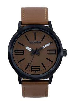 d2450570a919 Reloj Unisex Marrón 666Barcelona Born Sport  114.00
