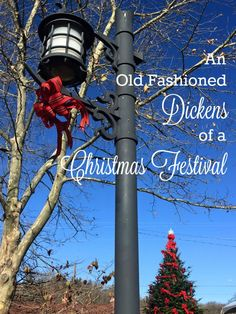 An Old Fashioned Dickens of a Christmas Festival
