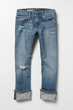 Boyfriend jeans. Wear day to night, dressed up or down. Comfortable and classic.