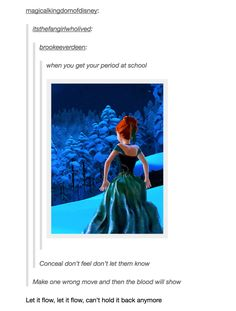 """Let it flow: 