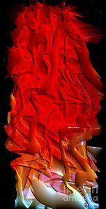Digital Art - Things Are Getting Hot by Rafael Salazar