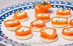 Oranje paprika met roomkaas - Keuken♥Liefde
