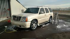 Cadillac Escalade detailing in Olympia WA!