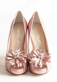 Offbeat Bridal Shoes For Your Wedding Day – Part II: Chantelle Embellished Heels In Rose