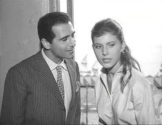 """Luigi De Filippo con Claudia Mori in """"Cerasella"""" (1959) di Raffaello Matarazzo"""