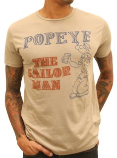 Popeye Vintage T-Shirt Fresh Outfits, Cute Outfits, Best Brand, Fashion Prints, Graphic Tees, Ladies Style, Funny Vintage, Unique Logo, Mens Fashion