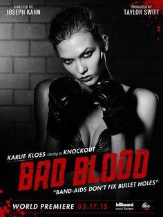 Karlie Kloss - Taylor Swift Bad Blood