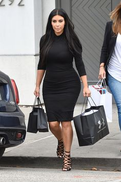 Kim shopping in Beverly Hills, CA - June 9, 2015