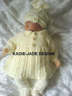 No 19 KADIE-JADE KNITTING PATTERN