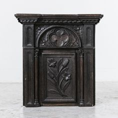 Gothic Pedestal from French Metro Antiques