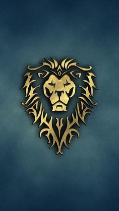World Of Warcraft Mobile Wallpaper Group Lion Hd Wallpaper, Hd Phone Wallpapers, Hd Wallpapers For Mobile, Hd Desktop, Cellphone Wallpaper, Mobile Wallpaper, Hd Wallpaper Android, World Of Warcraft Wallpaper, Lion Logo