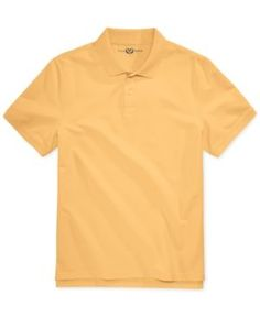 Club Room Men's Anson Pique Polo, Only at Macy's - Purple XXL