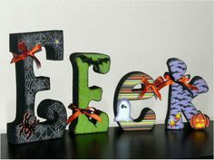 halloween letters - Google Search