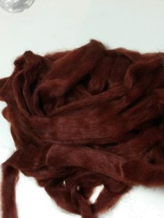 Suri Alpaca Roving Grade 2 Fine Hand Dyed by BreezyRidgeAlpacas