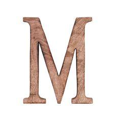 LETRA M 10x24
