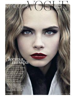 Cara Delevingne for Vogue Russia #vogue