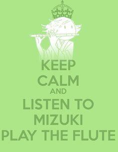 Mizuki and the flute :D(Kamisama Hajimemashita)