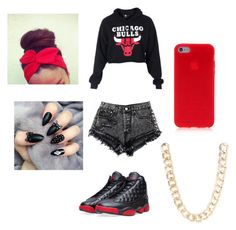"""Untitled #252"" by sike-a-da-nahhh ❤ liked on Polyvore featuring NIKE and Jane Norman"