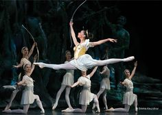 Birmingham Royal Ballet - Céline Gittens in David BIntley's Sylvia.  © Emma Kauldhar