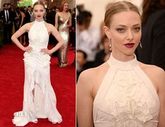 Amanda Seyfried In Givenchy Couture – 2015 Met Gala