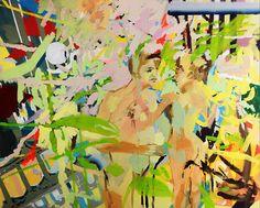 "Saatchi Art Artist: Görkem Dikel; Oil 2013 Painting ""Free Chat"""