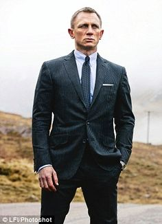 Double agents: Daniel Craig as Bond in Skyfall
