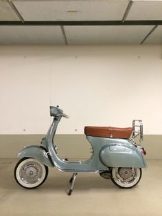 Vespas are timeless. Once fully restored it will have a whole new life and will bring you loads of joy! Scooters Vespa, Motos Vespa, Scooter Bike, Motor Scooters, Moto Bike, Lambretta, Piaggio Vespa, Gas Powered Bicycle, Lml Star