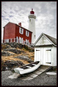 Fisgard Light, Victoria, British Columbia, Canada Copyright: Gregory Wagner