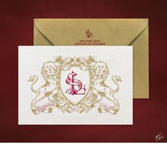 Luxury Wedding Invitations by Ceci New York - Our Muse - Regal Wedding in France - Be inspired by Stephanie & Linus' regal wedding in France - wedding, offset printing, invitations