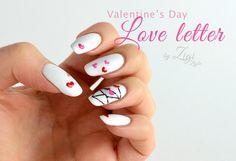ZigiZtyle: Valentine's Day Nails - Love Letter / Ystävänpäiväkynnet