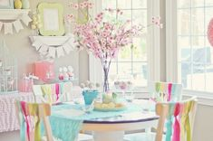 Spring cookie decorating party with TONS of cute ideas! via Karas Party Ideas KarasPartyIdeas.com #easter #spring #decorating #cookie #party #idea #supplies (9)