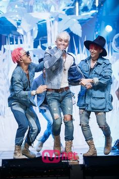 BIGBANG Taeyang, Seungri, and G-Dragon