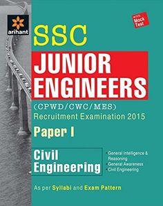 SSC Junior Engineer CPWD MES – Civil Engineering Paper 1 Recruitment Examination 2015