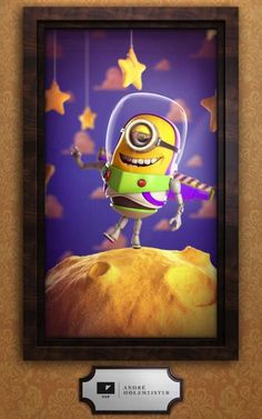 Minion Buzz Lightyear