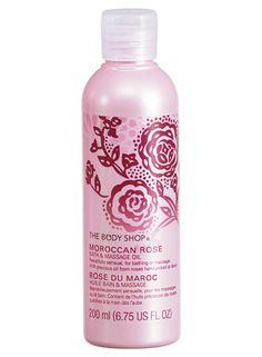 Moroccan Rose Bath & Massage Oil - The Body Shop