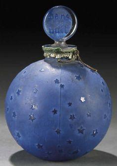 Lalique - Bouteille de Parfum - Dans la Nuit  - Worth - vers 1924