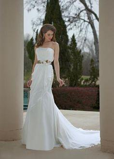 DaVinci Bridal 8465 - Organza strapless