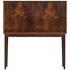 Aksel Kjersgaard Cabinet in Rosewood by Odder in Denmark | From a unique collection of antique and modern cabinets at https://www.1stdibs.com/furniture/storage-case-pieces/cabinets/