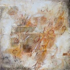 Passage 9 (2012) encaustic on wood panel by Ann Holsberry
