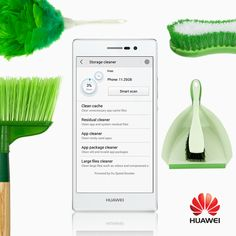 """A true """"smart"""" phone is one that can wirelessly clean out its system in seconds and create more storage space. Smartphone, Storage Spaces, Cleaning, Technology, Club, Create, Design, Mobile Technology, Brickwork"""
