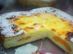 gâteau léger au fromage blanc et aux abricots